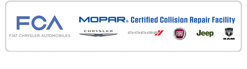 FCA MOPAR CERTIFIED COLLISION REAIR DODGE CHRYSLER JEEP RAM FIAT BODY SHOP SASKATOON KAVIA